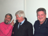 Fausto Pirito, Paolo Romani e Alessandro Volpi