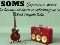 La locandina del rock contest Soms Experience 2017