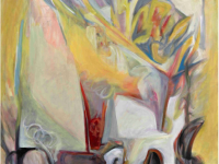 Relazioni , acrilico su tela, cm.180 x 150, 2012