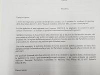 La risposta dell'Ufficio del Parlamento europeo