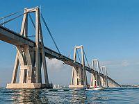 Il ponte Morandi a Maracaibo in Venezuela