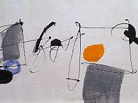 Vibrazioni, tecnica mista su tela, cm.60 x 100, 2018
