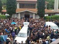 Il funerale di Fabio Bardelloni a Procchio