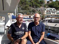 Simone Perotti e Maurizio Burlando