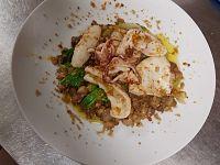 Una dei piatti di Fedora