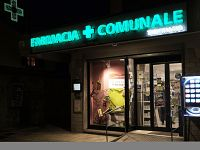 La farmacia Sogefarm a  Titignano