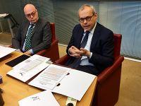 Daniele Salvadori, direttore generale e Nicola Giorgi presidente BpLaj