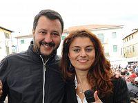 Matteo Salvini e Susanna Ceccardi