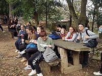 Studenti in gita nelle isole dell'Arcipelago toscano