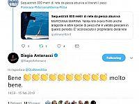 Il tweet di Biagio Antonacci