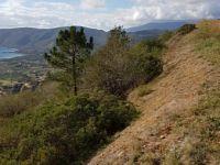 Una delle sezioni dell'area