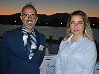 Massimo Gervasi, Presidente Apit e Irene Galletti M5s