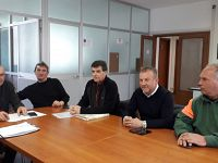 Da destra: Massimo Tognotti, Paolo Paoli, Giancarlo Gentili, Marcello La Rosa e Lorenzo Capocchi