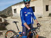 Gerhard Kerschbaumer, campione italiano in carica di Mtb Xco