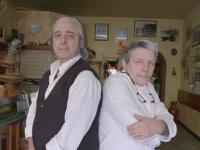 Giuseppe e Riccardo Montanini in un fermo immagine del programma