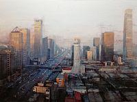 Pechino, 2018, acrilico su tela, 100x150