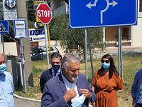 L'assessore regionale Ceccarelli con gli amministratori comunali del Vadarno