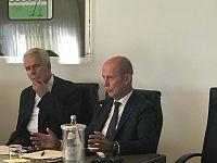 Eugenio Giani, presidente Consiglio regionale e Stefano Ciuoffo, assessore regionale commercio, turismo, attività produttive