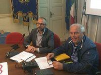 Gli assessori allo sport di Pontedera e Vicopisano, Matteo Franconi e Andrea Taccola