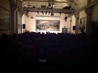 L'auditorium Piaggio gremito