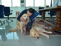 Gabriele Antonelli ha portato la pet therapy in ambito studentesco a Teramo