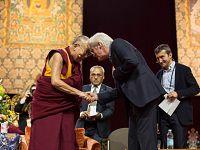 Ottobre 2016 - Milano: Il Dalai Lama con Richard Gere (photo by Paolo Regis)