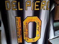 La maglia di Del Piero dedicata al club di San Miniato