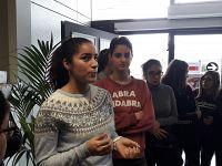 I ragazzi e le ragazze del Liceo scientifico di Portoferraio
