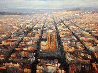 Barcellona, 2018, acrilico su tela, 100x150