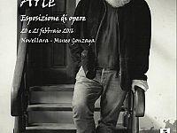 Il manifesto della Mostra dei dipinti di Augusto Daolio