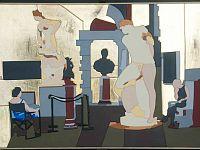 """""""Florence"""", acrilico su legno, cm.70 x 100, 2014"""
