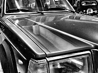 Un particolare di una Volvo