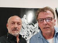 Luca Bellandi con Riccardo Ferrucci
