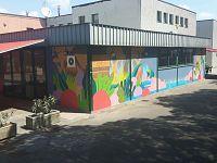 Il murales di Edf Crew