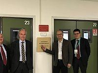 L'intitolazione dell'auditorium pisano di Enel a Ruggero Bertani