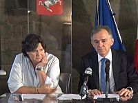 Stefania Saccardi e Enrico Rossi