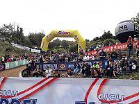 Il pubblico durante la gara (foto di Alberto Baldetti)