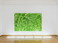 Elogio dele vagabonde - 2017 - acrilico e tempera su tela - 300x200 - Courtesy UNA galleria
