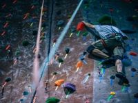 Il muretto di arrampicata