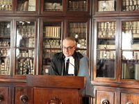 Il direttore della scuola Normale superiore Vincenzo Barone