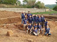 Gli studenti dello scavo di San Giovanni