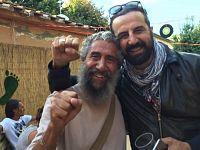 Omar Pedrini con il nostro blogger, Fausto Pirìto