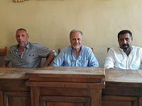 Leo Lupi, Angelo Zini e Luca Baldi