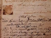 Documento dall'Archivio storico del Comune di Marciana riguardante la chiesa di S. Lucia