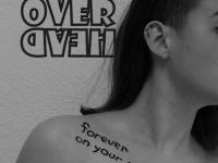 """La copertina del secondo EP degli Over Head: """"Forever on Your Skin"""""""
