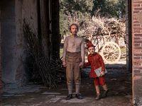 Foto di scena Pinocchio e Geppetto