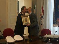 Michele Stefanelli ed il sindaco Millozzi