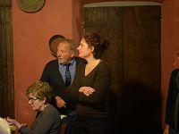 Giorgia Madiai con il padre Mario