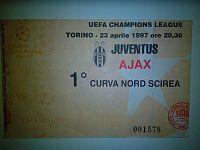 Semifinale 1997, Juventus Ajax
