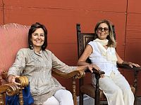 Cecilia Pacini con presidente nazionale di Italia Nostra, Mariarita Signorini